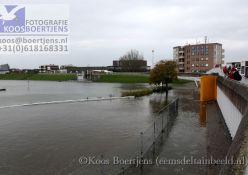22 10 2014 – Stormvloed in Delfzijl