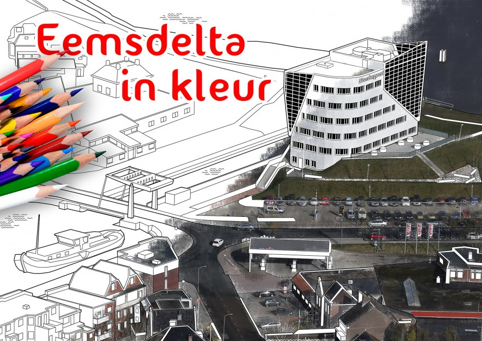 Cover Eemsdelta in kleur
